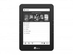Icarus E-Reader mit Skoobe-App (Bild: Skoobe)