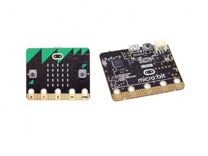 Micro Bit (Bild: BBC)