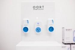 Das Smart-Home-System des  polnischen Start-ups OORT baut ein offenes Ökosystem auf, über das sich elektrische Geräte im Haushalt via Bluetooth Smart von jedem internetfähigen Gerät steuern lassen (Bild: Intel).