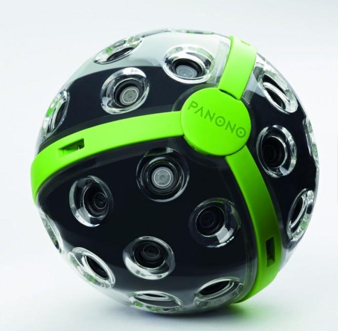 Die Consumer-Variante der 360-Grad-Kamera der deutschen Firma Panono, die allerdings nur Bilder, keine Videos aufnimmt, ist im Herbst ab 600 Euro erhältlich (Bild: Panono).