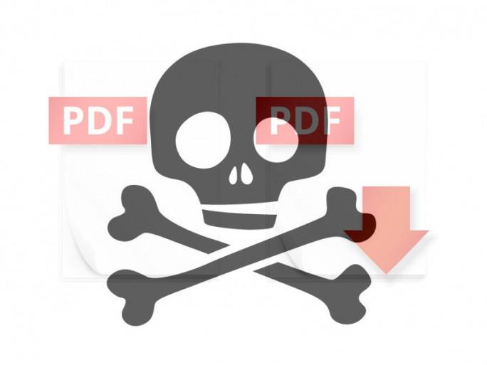 PDF-Cloaking (Bild: Shutterstock/ iunewind und Reamolk)