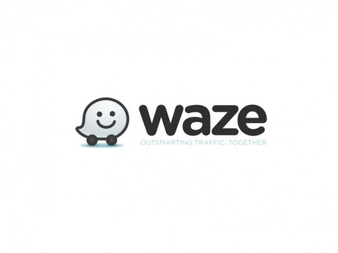App Waze Logo (Grafik: Google)