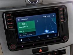 Android Auto in einem Volkswagen (Bild: Volkswagen)
