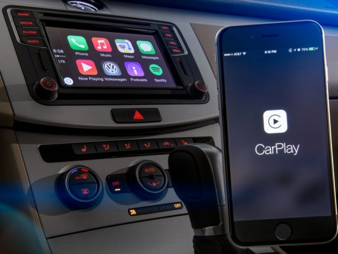 Apple Car Play in eienm VW (Bild: Volkswagen)