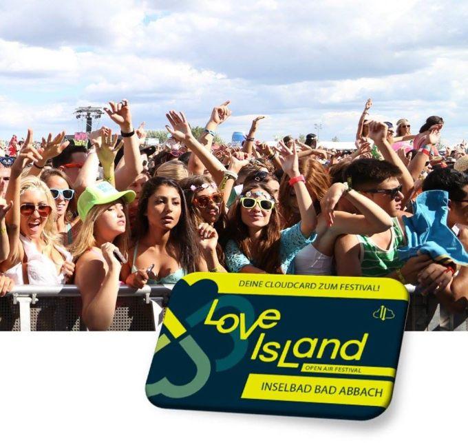 Die Sponsored-Variante der Cloudbox to Go eignet sich aber auch, um Veranstaltungsbesuchern einen Mehrwert zu bieten - wie SSP Europe und die Veranstalter des Musikfestivals Love Island jetzt in einer gemeinsamen Aktion gezeigt haben (Grafik: SSP Europe).