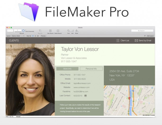 Filemaker Pro 14 (Screenshot: ITespresso)