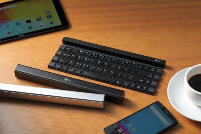 LG Rolly Keyboard KBB-700 (Bild: LG Electronics)