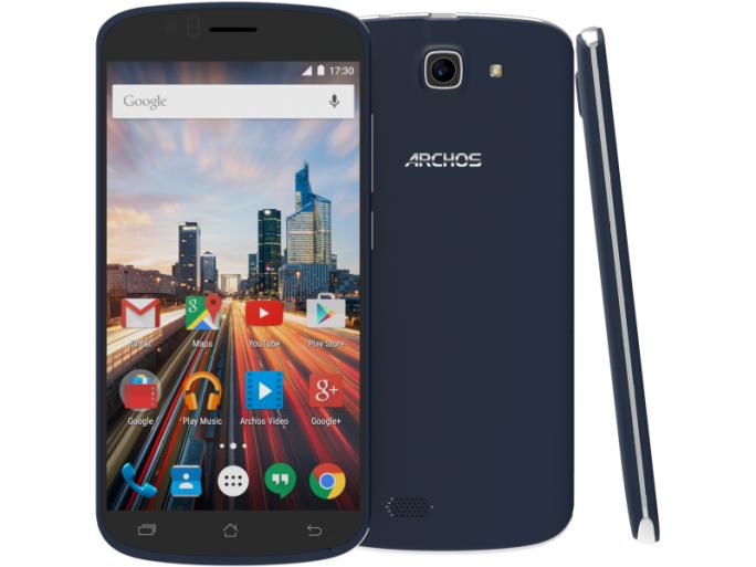 Das Archos 50e Helium kommt mit Android 5.1 als Betriebssystem (Bild: Archos).