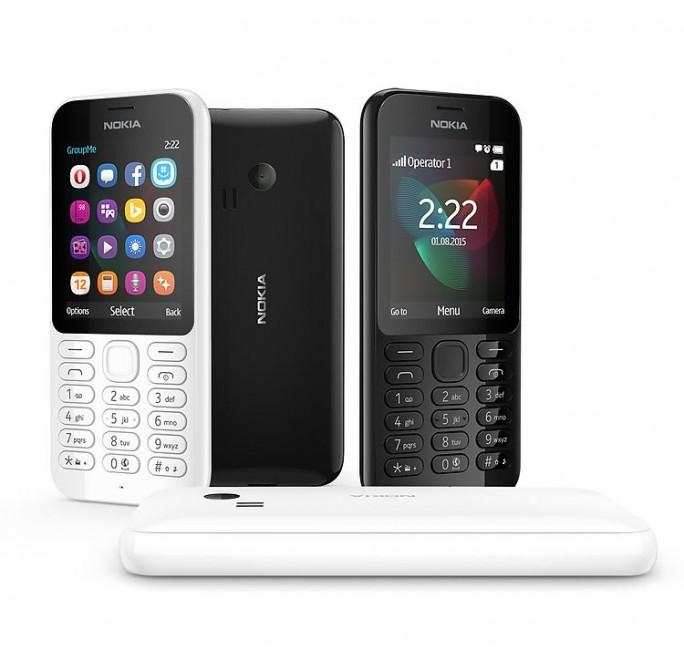 Die Dual-SIM-Variante des Nokia 222 wird ab November für 59 Euro auch in Deutschland angeboten (Bild: Microsoft)