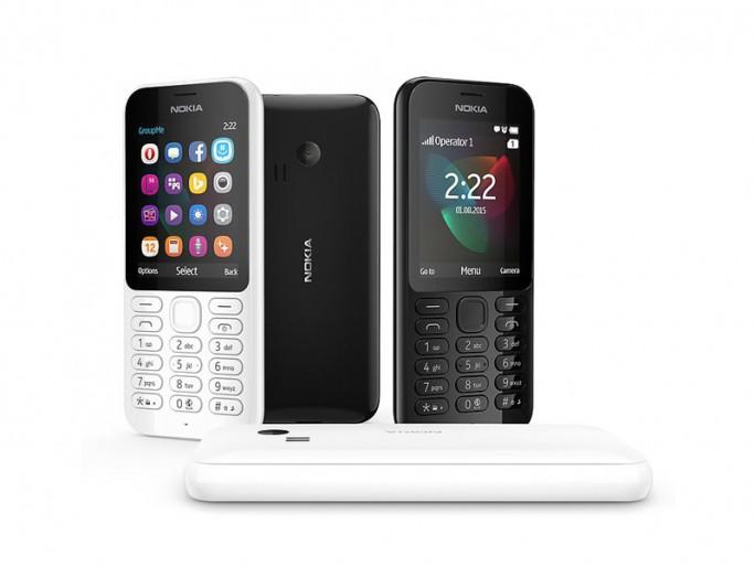 Nokia 222 (Bild: Microsoft)