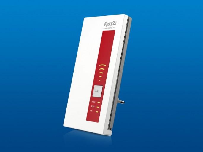 Der Fritz WLAN Repeater 1160 kommt voraussichtlich im September zur UVP von 69 Euro in den Handel. Er funkt mit, 866 MBit/s im 5-GHz-Band sowie 300 MBit/s im Frequenzbreich bei 2,4 GHz (Bild: AVM).