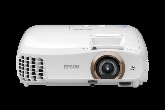Epson ist mit seinen Projektoren nach eigenen Angaben Weltmarktführer Das Foto zeigt den Heimkino-Beamer EH-TW5350. (Foto: Epson)