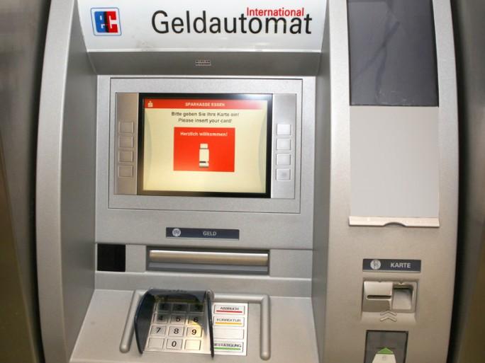 Geldautomat (Bild: Sparkasse Essen)