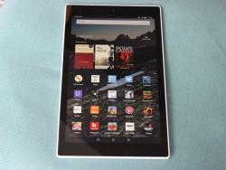Das ab 200 Euro erhältliche Fire HD 10 ist Amazons bisher größtes Tablet (Bild: Übergizmo.de).