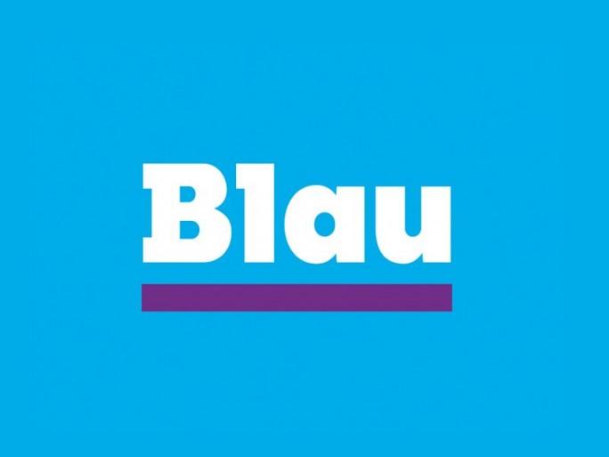 Blau Logo (Grafik: Blau)