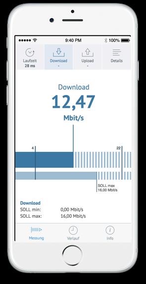 App für die Breitbandmessung (Grafik: Bundesnetzagentur)