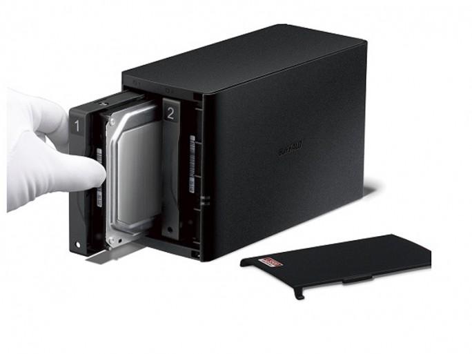Buffalo Linkstation 520D (Bild: Buffalo Technology)