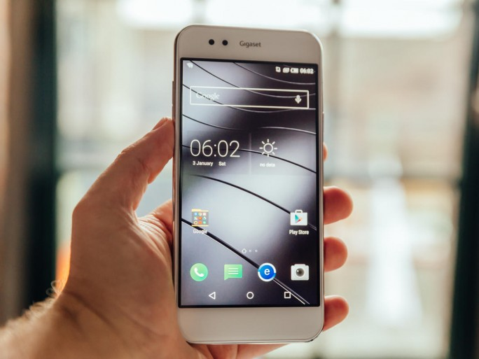 Gigaset Me Smartphone (Bild: CNET)