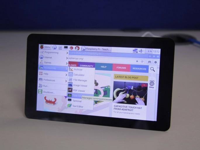 raspberry-touchscreen (