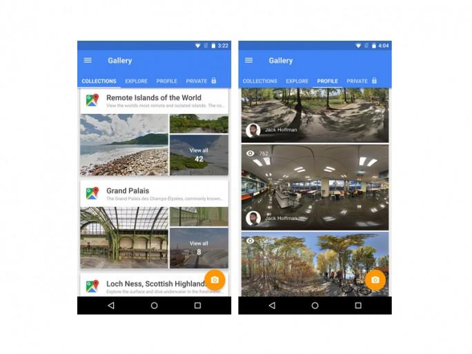 Street View App (Bild: Google)