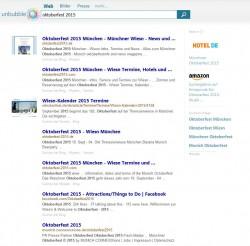 Anzeige der Suchtreffer bei Unbubble.eu (Screenshot: ITespresso).