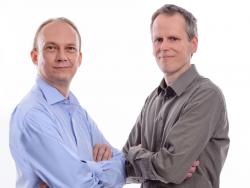 Die eblocker-Gründer Christian Bennefeld udn Boris Prinz (Bild: eBlocker)