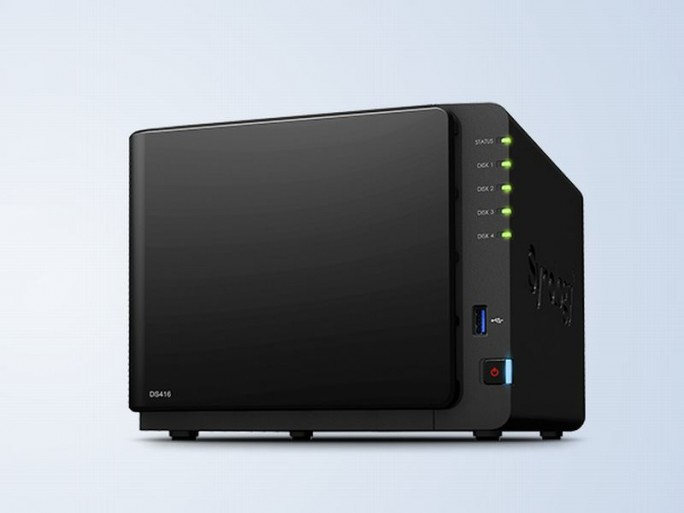 DiskStation DS416 (Bild: Synology)