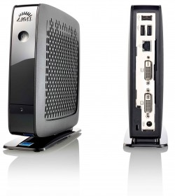 Thin-Client-Rechner von Igel Technology wie der IZ2/UD2 begnügen sich mit energieeffizienten Prozessoren wie Intels E3815 (1,5 GHz). (Fotos: Igel Technology, Montage: ITespresso)