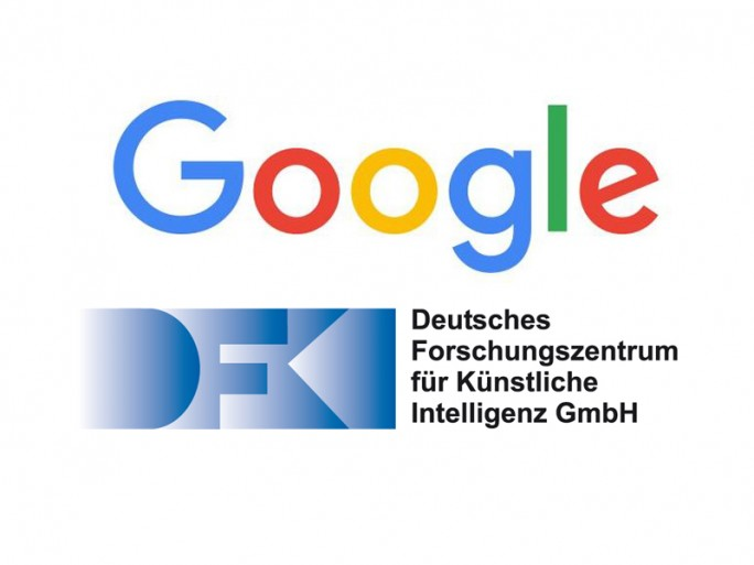 Logos (Grafik: Google und DFKI)