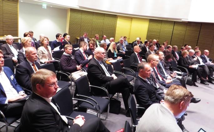 Publikum bei der Herbsttagung der deutsch-finnischen Handelskammer am 26. Oktober in München. (Foto: Mehmet Toprak)