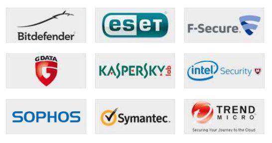 """In seiner """"Business Review 2015"""" hat AV-Comparatives neun Security-Produkte für KMU auf ihre Alltagstauglichkeit abgeklopft (Grafik: AV-Comparatives)"""