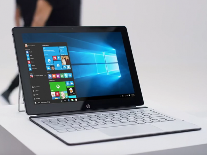 HP Spectre x2 (Screenshot: ITespresso)