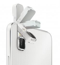 Die Besonderheit des ShotX ist die um 180 Grad umklappbare 13-Megapixel-Kamera (Bild: Huawei).