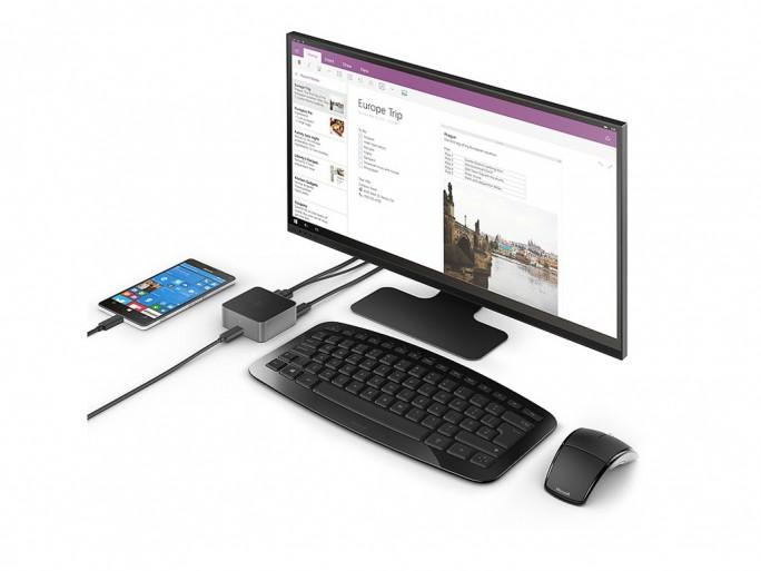 Microsoft Display Dock HD 500 im Einsatz (Bild: Microsoft)