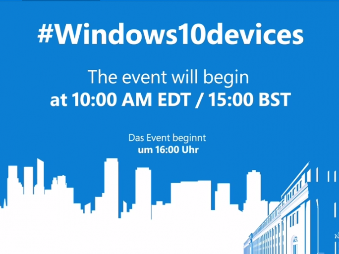 Microsoft-Event am 6. Oktober 16:00 Uhr (Screenshot: ITespresso.de)