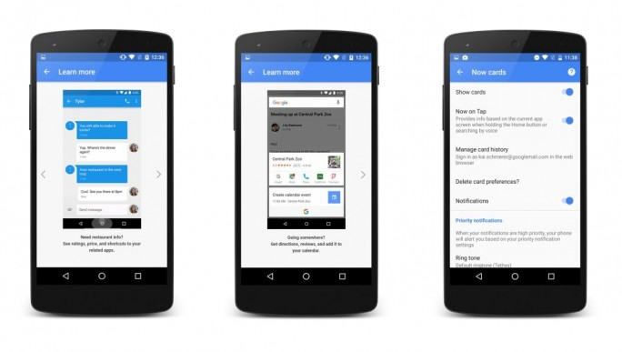Google Now on Tap (Bild: Google)