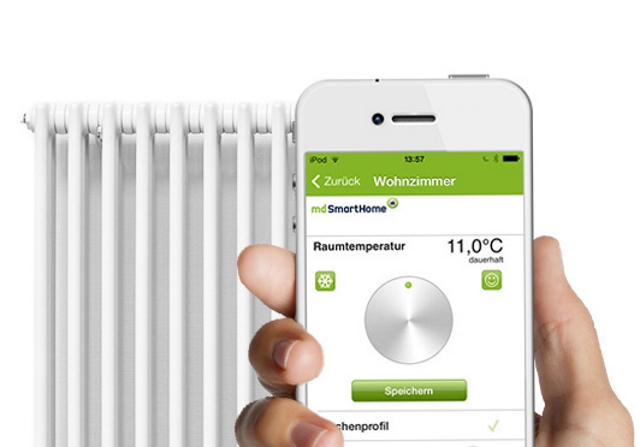 mobilcom debitel gew hrt kurzzeitig rabatt auf smarthome heizung. Black Bedroom Furniture Sets. Home Design Ideas