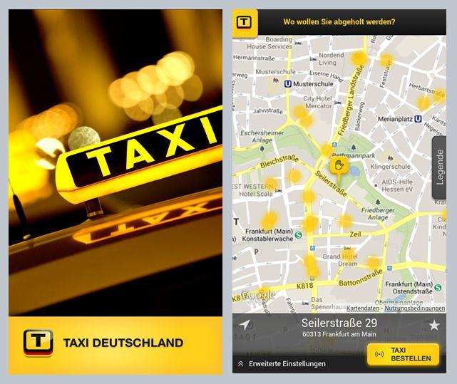 App von Taxi Deutschland (Bild: Taxi Deutschland eG)
