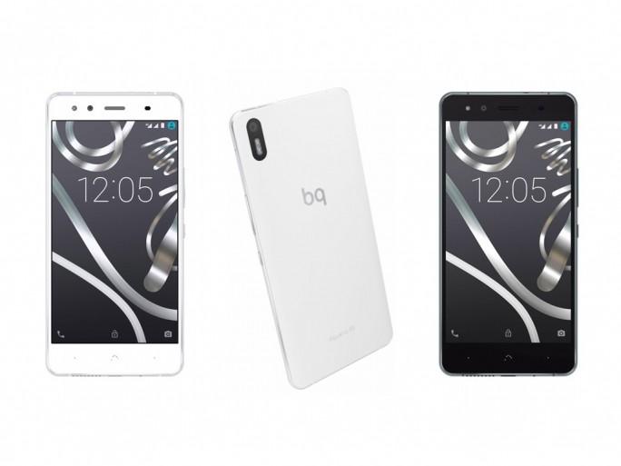 Cyanogen-Smartphone BQ Aquaris X5 (Bild: Telefónica)
