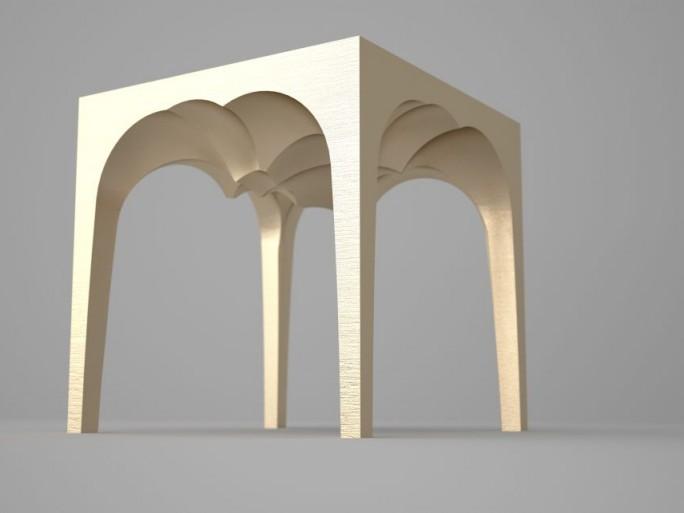 BigRep: Stuhl aus dem 3D-Drucker (Bild: BigRep)