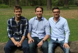 Die drei Bonavendi-Gründer Stefan Zinser, Florian Forster und Marco Görgmaier  (Bild: Bonavendi).