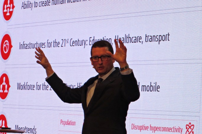 """Komplexität und Risiken nehmen für Unternehmen exponentiell zu"", sagt Fujitsus Emea-Chef Duncan Tait, Director und Corporate Executive Officer, EVP und Head of EMEIA (Foto: Mehmet Toprak)."