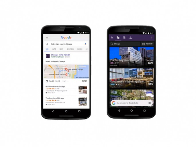 Google streamt Apps (Bild: Google)
