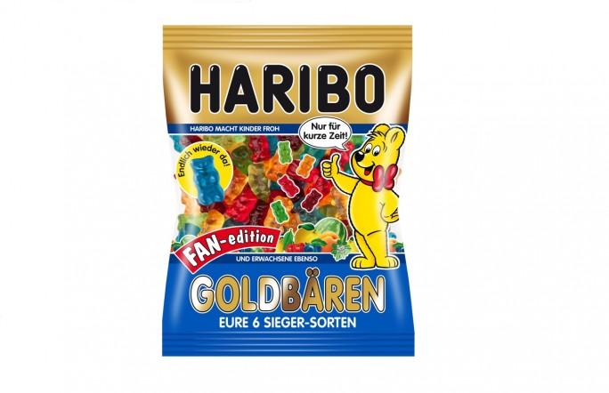 Die Haribo Goldbären Fan-edition entstand in Zusammenarbeit mit Kunden. (Foto: Haribo)