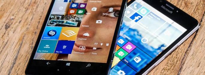 Lumia 950 und Lumia 950 XL (Bild: Übergizmo.de)