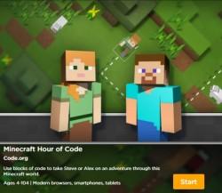 Minecraft Hour of Code (Bild: Microsoft)