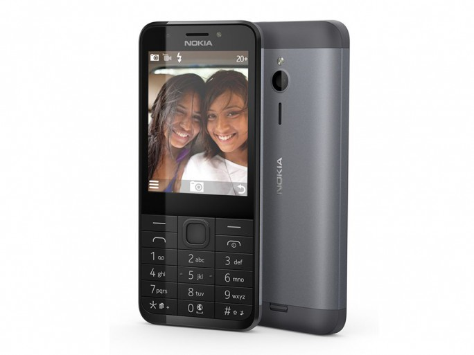 Das Nokia 230 kommt im Januar auch in Deutschland auf den Markt. Als Betriebssystem nutzt es Nokias Series 30+ Bild: Microsoft). (Bild: Microsoft)