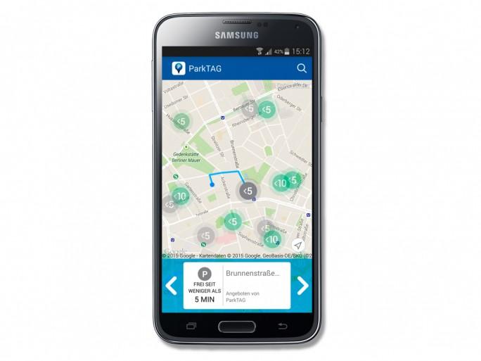 ParkTag App (Bild: Park ag)