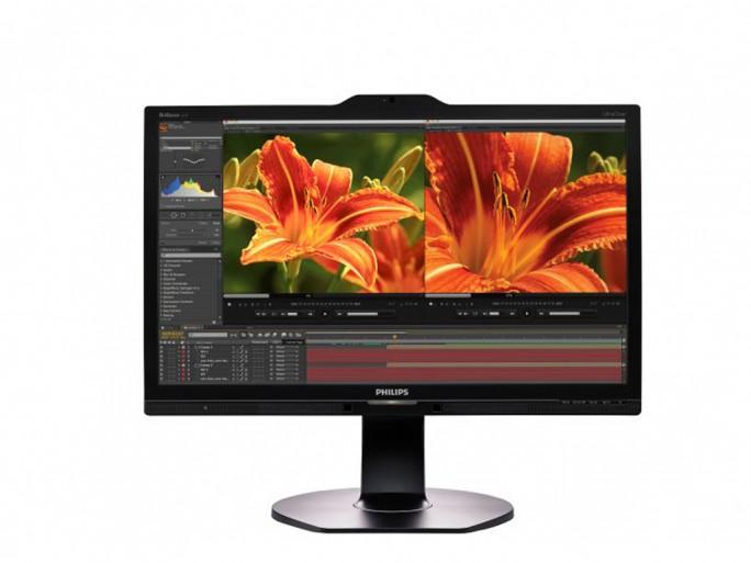 Monitor Philips 241P6VPJKEB (Bild: MMD)