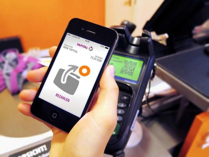 Yapital App im Einsatz (Bild: Yapital)